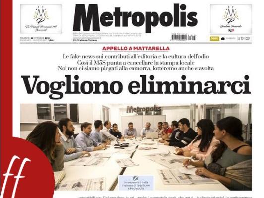 giornali locali metropolis